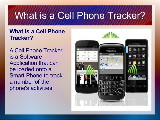 the cell phone tracker
