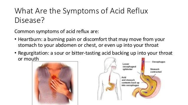 How to ease chest pain from reflux