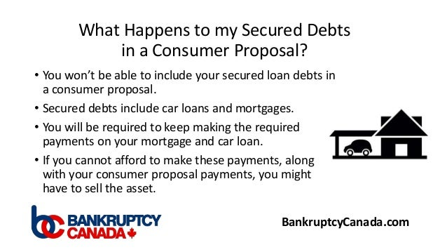 What Is A Consumer Proposal