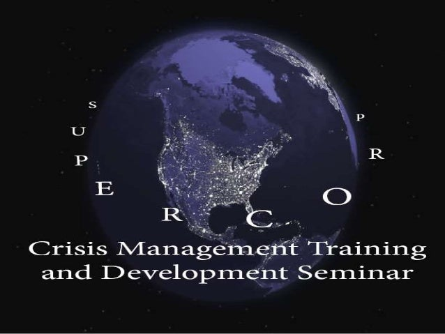 What is a crisis? • A crisis is a major occurrence with a potentially negative outcome affecting the organization, as well...