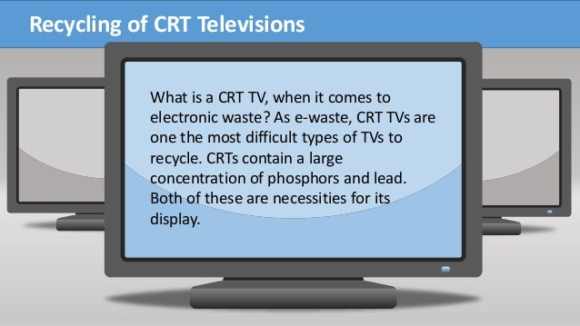what is a crt tv