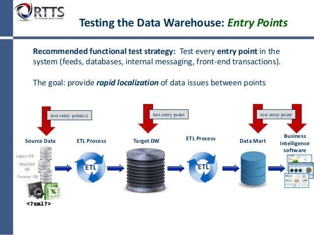 data warehouse testing Bi and data warehouse testing bi and data warehouse testing supported by legitest you to create a test case once and execute multiple times across a.