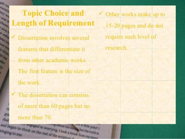 dissertation paper definition