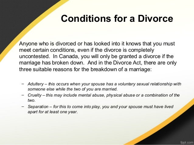 What is a do it yourself divorce 11 conditions for a divorceanyone who is divorced or solutioingenieria Image collections