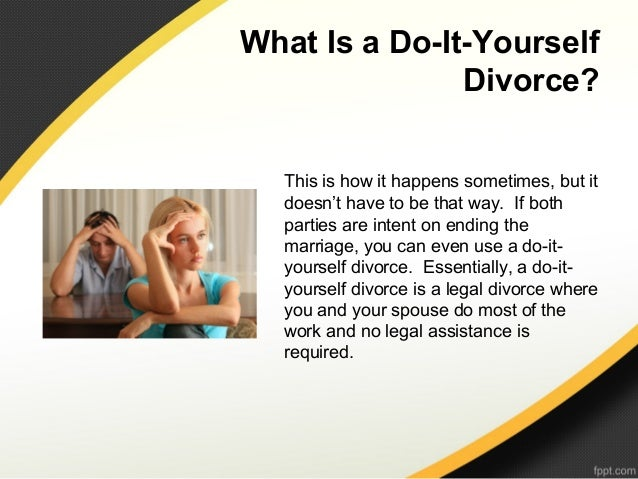 What is a do it yourself divorce 3 what is solutioingenieria Gallery
