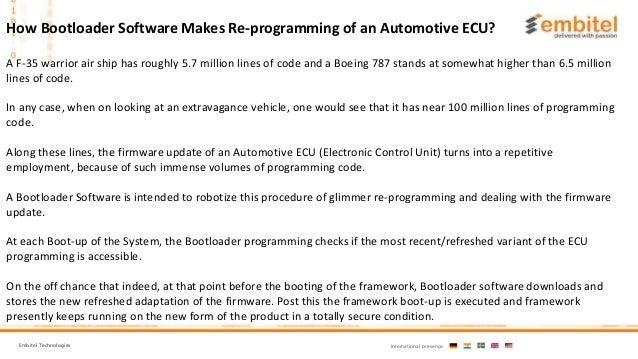 Understanding Flash Bootloader Software and Automotive ECU