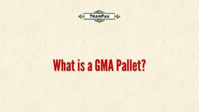 gma pallets. what rsa out pallet? gma pallets r