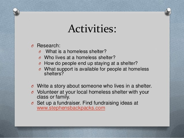 what is a homeless shelter