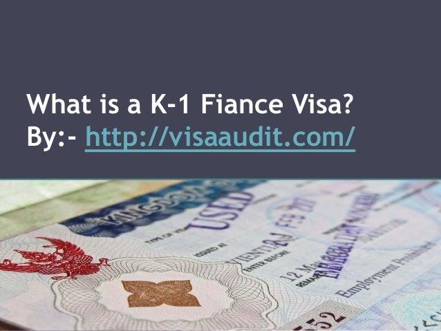 Online K1 K2 Fiance Visa Application FormProcessing Time PPT And PDF