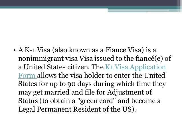 Online K1 & K2 Fiancé Visa Application Form,Processing Time