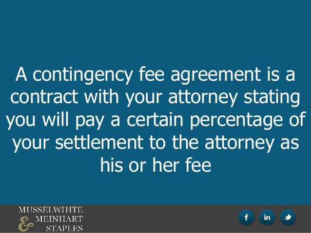 What Is a Kentucky Contingency Fee