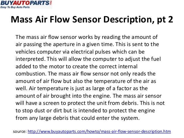 What is a Mass Air Flow Sensor?