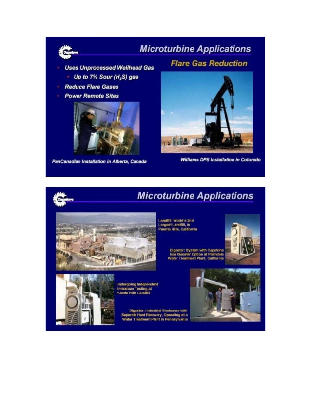 What is a microturbine Slide 3