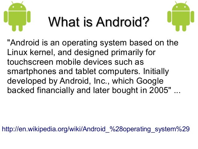 What is Android draft25