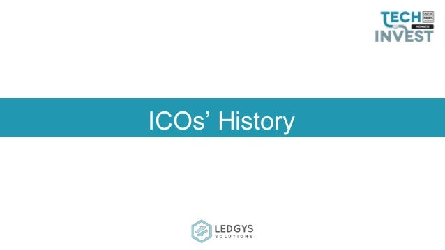 ICOs' History