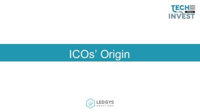 ICOs' Origin
