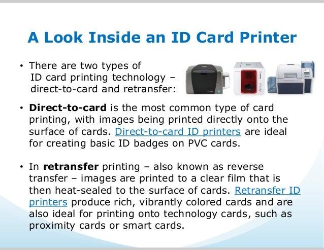 what is an id card printer