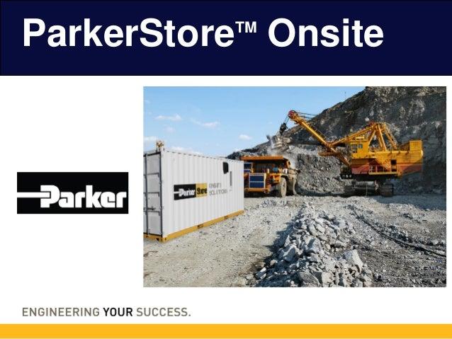 ParkerStoreTM Onsite