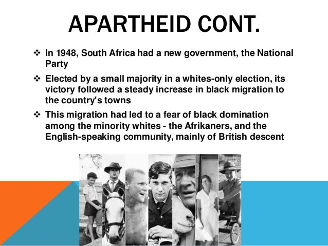 multiracial theatre and the apartheid state in south africa Unlike most editing & proofreading services, we edit for everything: grammar, spelling, punctuation, idea flow, sentence structure, & more get started now.