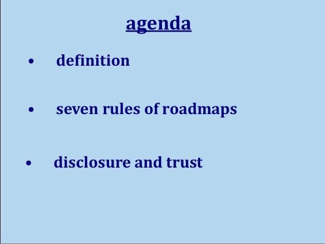 Seven Rules of Product Roadmaps Slide 2