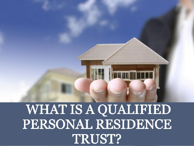 What is a Qualified Personal Residence Trust in Connecticut?