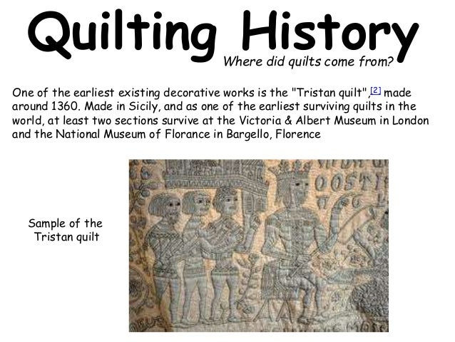 What is a Quilt Introduction : quilts history - Adamdwight.com