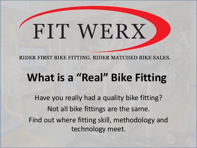 """What is a """"Real"""" Bike Fitting Have you really had a quality bike fitting? Not all bike fittings are the same. Find out whe..."""