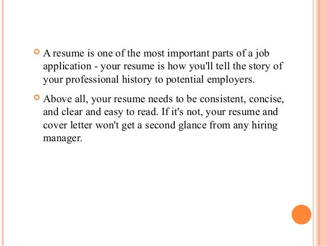 how to write a resume 18 - Is Cover Letter Important