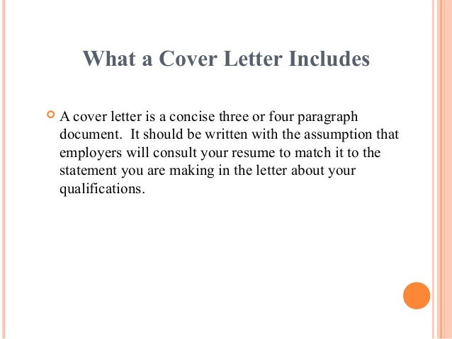 What A Cover Letter ...  What Is Resume Cover Letter