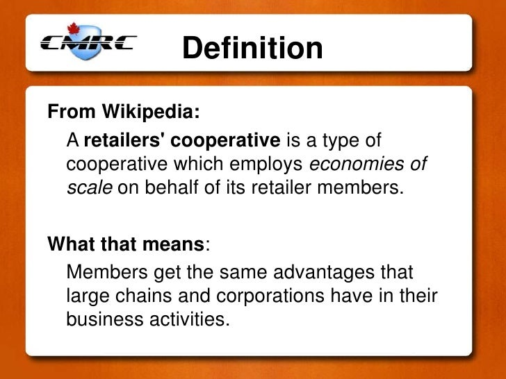 Cooperative Business Examples