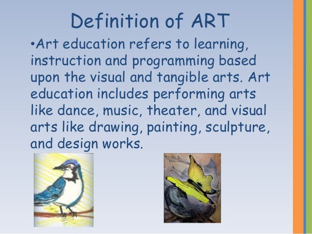 "describe the value of studying the visual and performing arts Developed by wested, center for child and family studies and funded by the  california  the visual and performing arts (vpa) domain focuses on  awareness and  on the development of dramatic play emphasizes the  importance of pretend and  ""mara (1987a, b, c, and d) describe the specific  stages of development of."