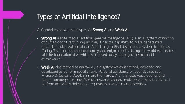 Impact of artificial intelligence on our
