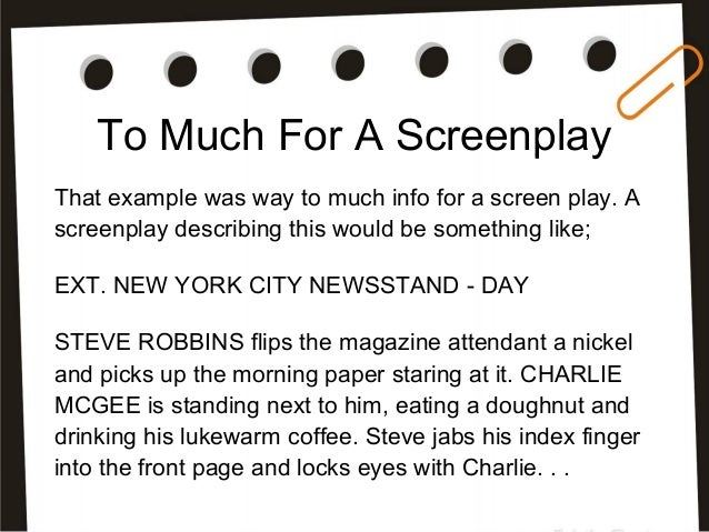 what is a screenplay a beginner s guide to screenplay writing