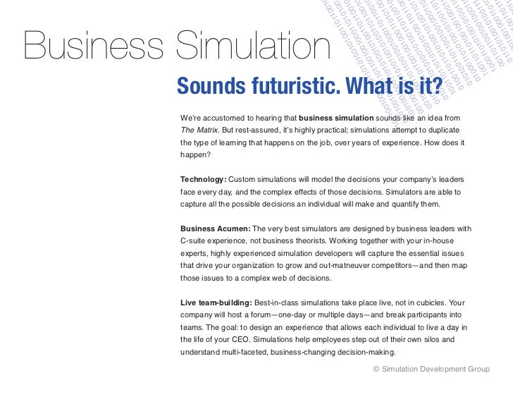 How to use business simulations for leadership training for Business simulator