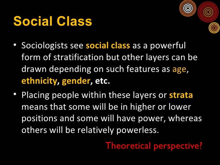 poverty and social stratification essay Social stratification user soci 1301001 social stratification essay within 196531 monet davies lambert society who are within the poverty band.