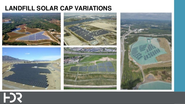 What Is A Solar Energy Landfill Cover System