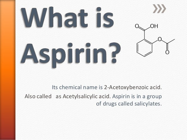 physical and chemical properties of aspirin pdf