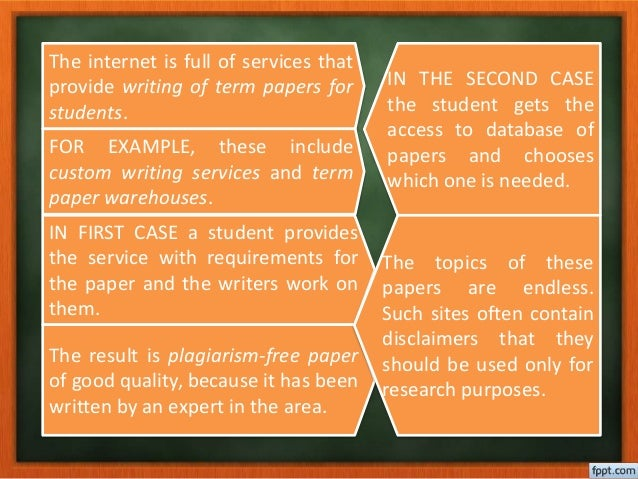 warehouse term paper Many students have problems with term paper writing our professional writers give high-quality help for an affordable price join our term paper warehouse.