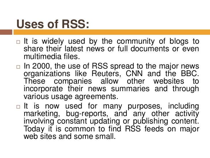 RSS Autodiscovery  RSS Advisory Board