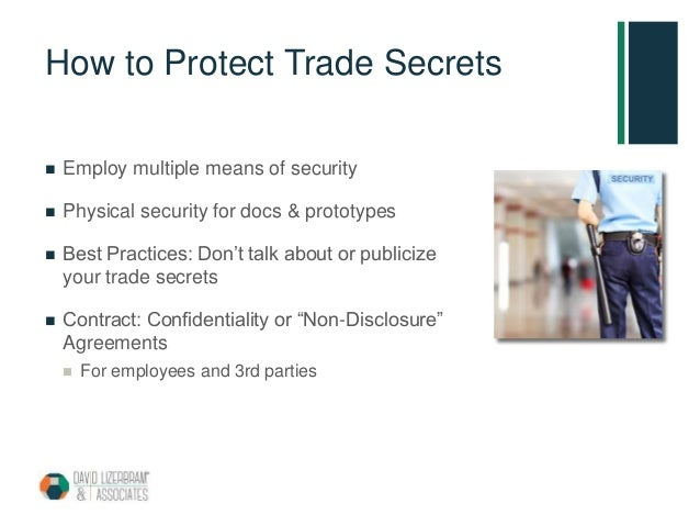 What Is A Trade Secret