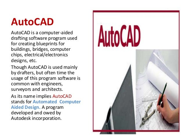 What is auto cad