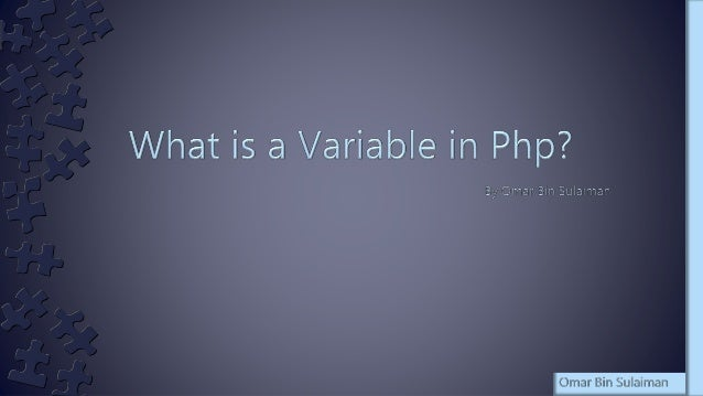 › A variable is just a storage area. You put things into your storage areas (variables) so that you can use and manipulate...