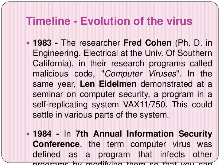 the evolution computer viruses over the years and their effects of computers 5 signs that your computer is infected  a virus has taken over and is holding your computer ransom  there are computers out there that have been sending spam for years their owners have.