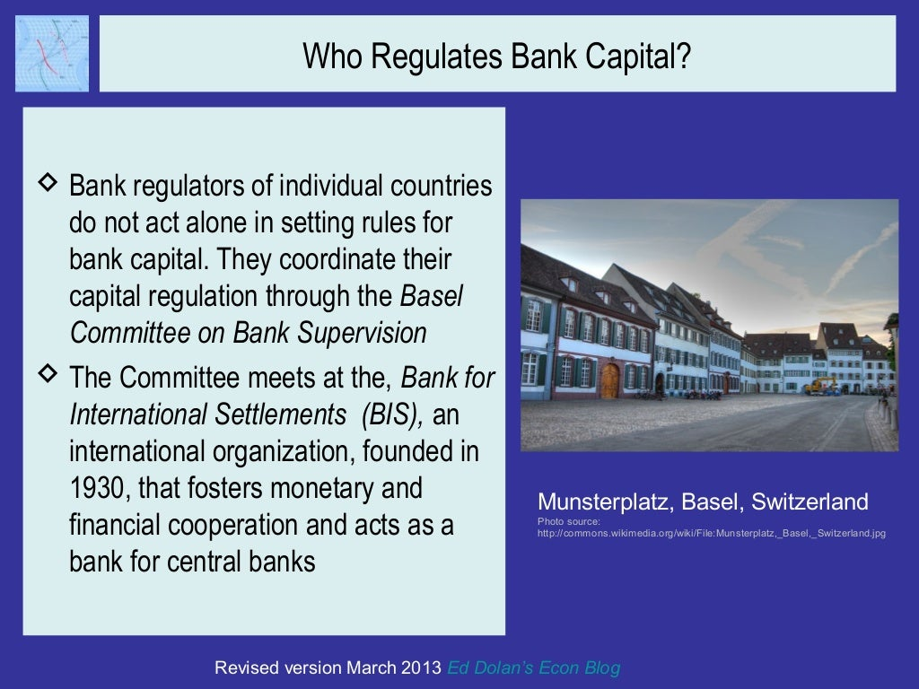 bank regulation Bank examiners also gather information on two major focuses of banking supervision and regulation are the safety and soundness of financial institutions and.