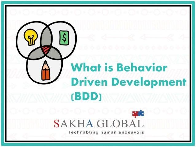 What is Behavior Driven Development (BDD)