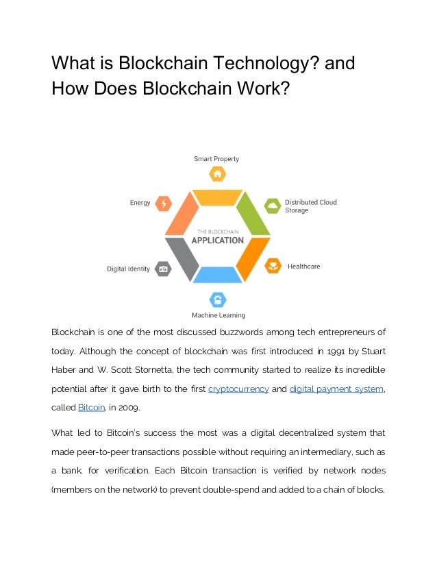 what is blockchain technology and how does blockchain work