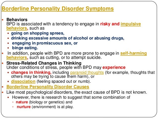 What is borderline personality disorder (bpd)