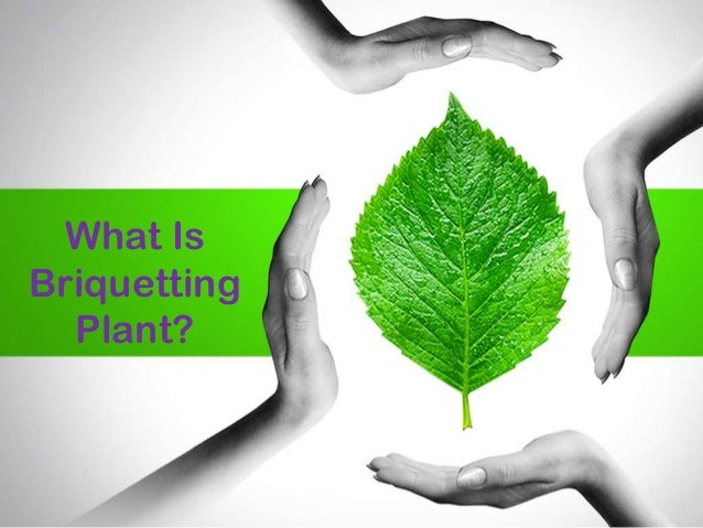What Is Briquetting Plant?