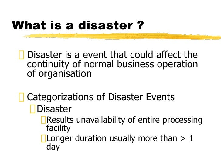 describe an important online business continuity package bcp