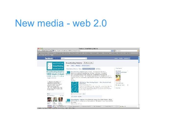 New media - web 2.0